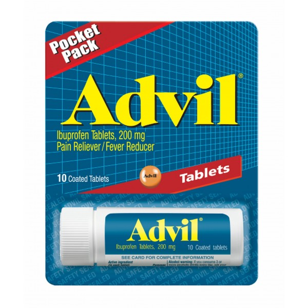 Advil Pocket Pack Vial