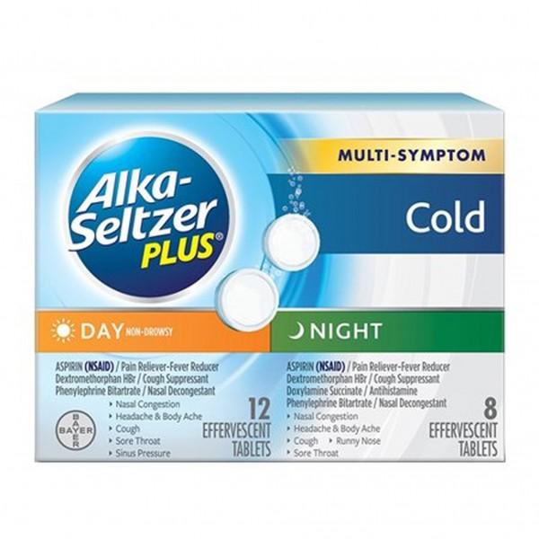Alka-Seltzer Plus Multi-Symptom Cold Day & Night