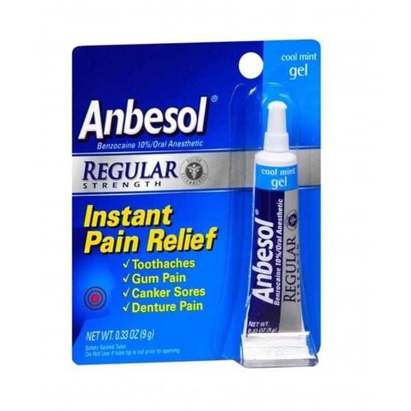 Anbesol Regular Strength Gel 0.33 oz
