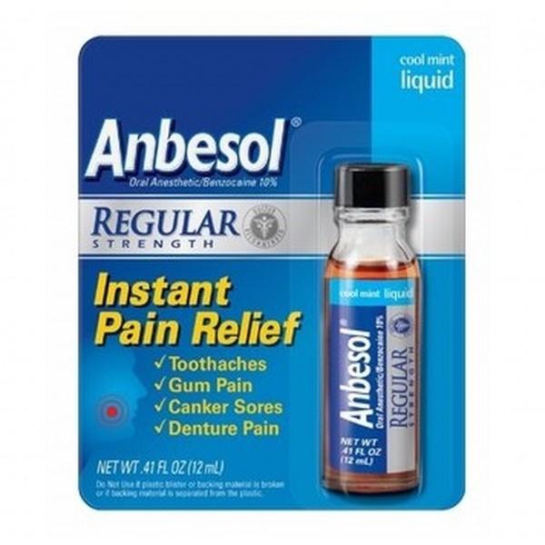 Anbesol Regular Strength Liquid 0.41 fl oz