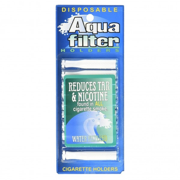 Aqua Filter Disposable Water Filtered Holders 10-Count