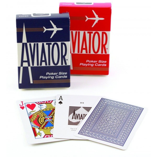 Aviator Standard Playing Cards (Box of 12 Decks)