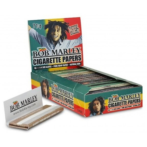 Bob Marley 1-1/4 Cigarette Papers