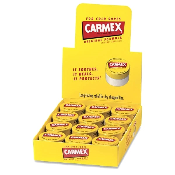 Carmex Lip Balm Jar Original 0.25 oz