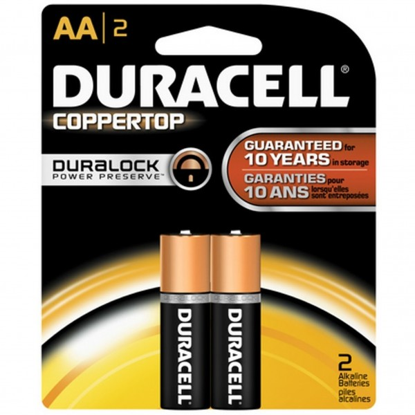 Duracell Coppertop AA 2-Pack Batteries (Box of 14)