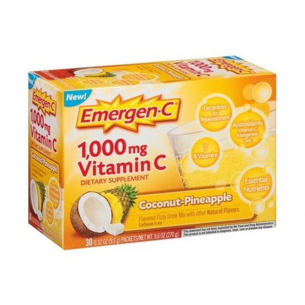Emergen-C Coconut-Pineapple