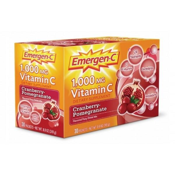 Emergen-C Cranberry-Pomegranate