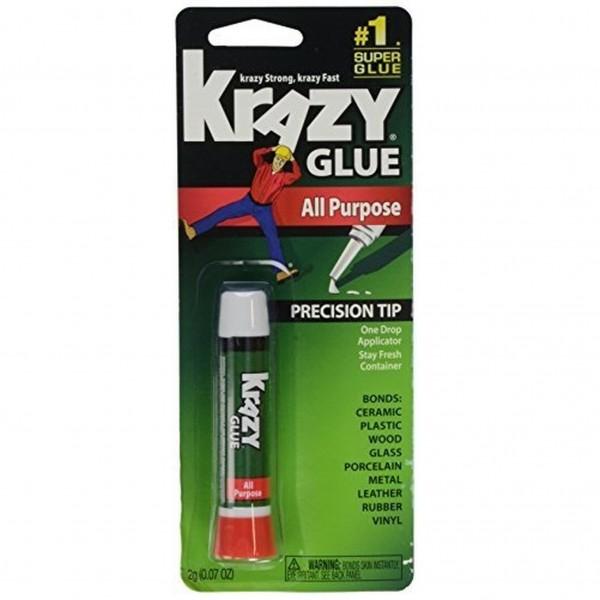 Krazy Glue KG585 All Purpose Tube 0.07 oz (Pack of 12)