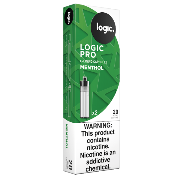 Logic PRO Capsules Menthol 20 mg/ml 2-Ct (10/bx)