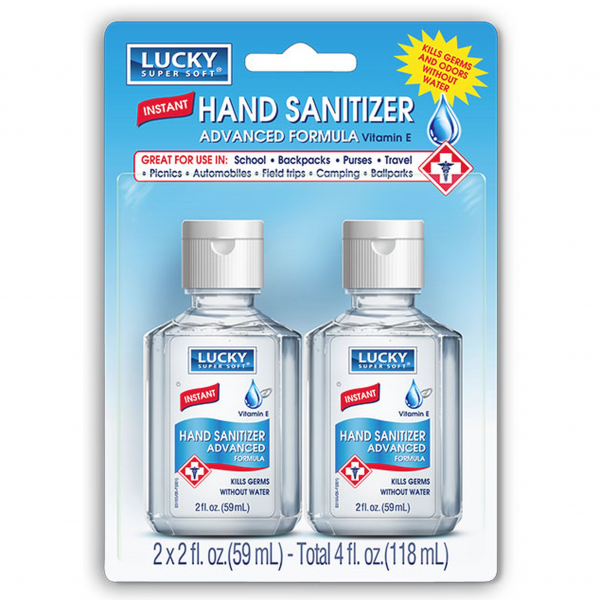 Lucky Instant Hand Sanitizer Original 2 fl oz