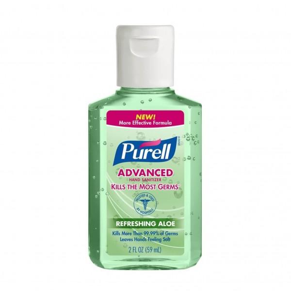Purell Hand Sanitizer Aloe Flip Cap