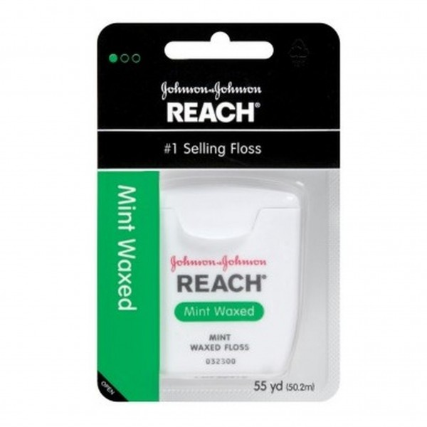 Reach Mint Waxed Floss 55 yd (Pack of 6)