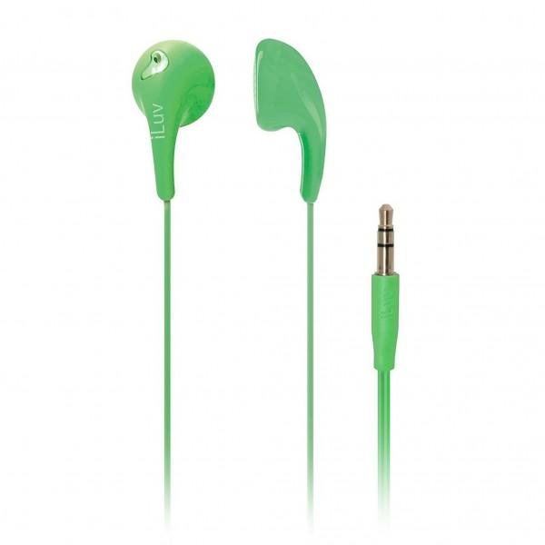 iLuv Bubble Gum 2 Earphones Green