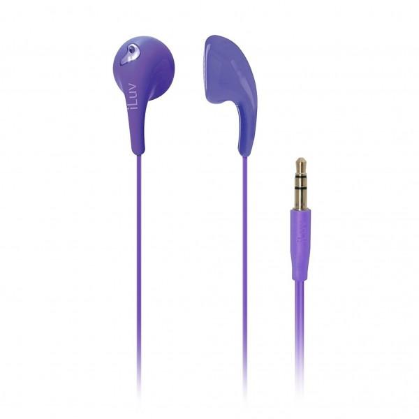 iLuv Bubble Gum 2 Earphones Purple