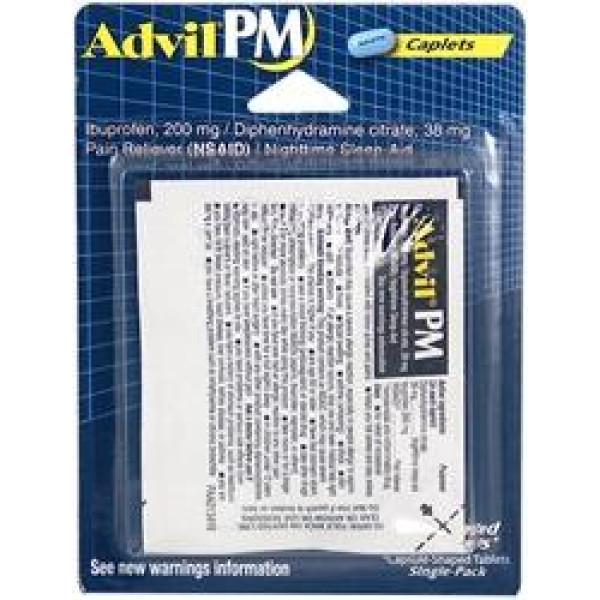 ADVIL PM SINGLE PACK BLISTER