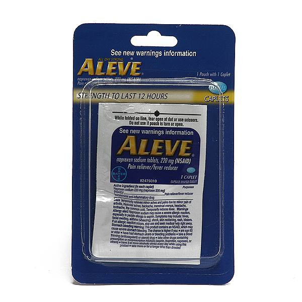 ALEVE SINGLE PACK BLISTER