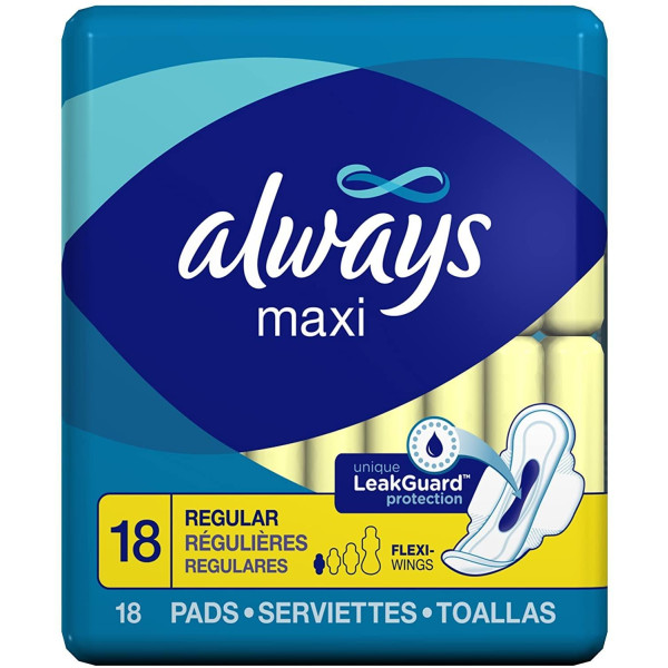 ALWAYS 18'S (#04678) MAXI W/WINGS