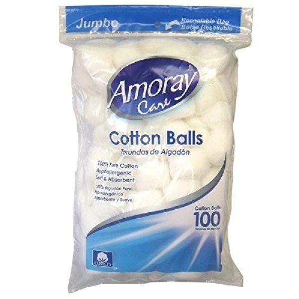 AMORAY COTTON BALLS 100CT.
