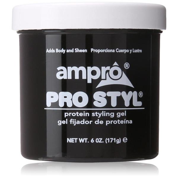 AMPRO PROTEIN GEL PRO A STYLE(BLACK) 6 OZ.