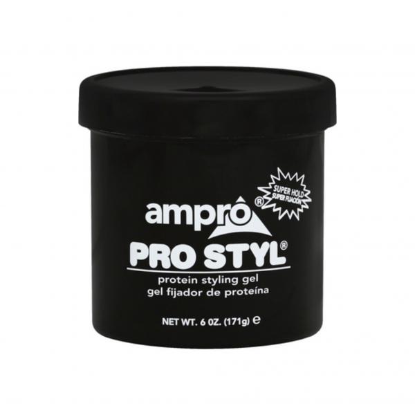 AMPRO PROTEIN GEL SUPER BLACK 6 OZ.