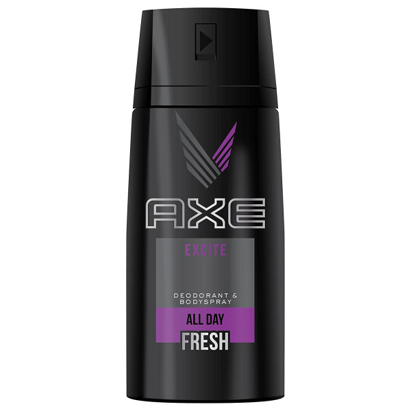 AXE BODY SPRAY EXCITE WHITE 150ML.