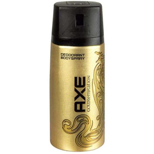 AXE SPRAY 150ML GOLD TEMPTATION