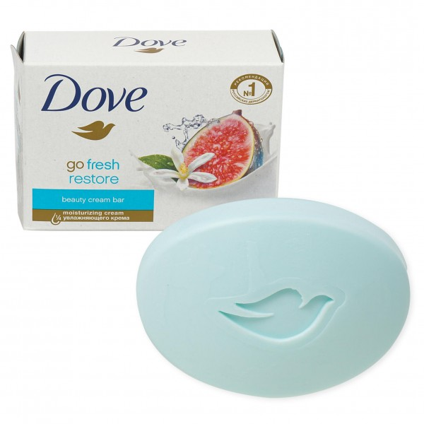 Dove Store Bar Soap - Blue Fig & Orange Blossom