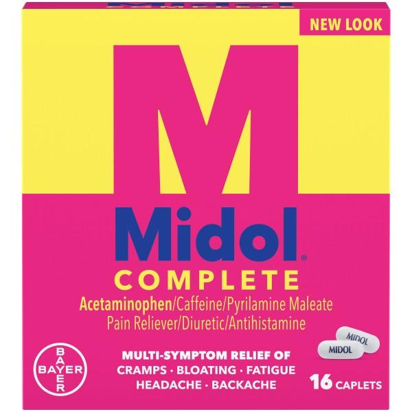 MIDOL COMPLETE CAP 16 CT.