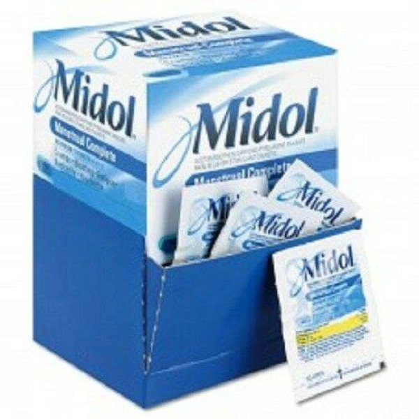 MIDOL MAX.STR. LOOSE BOX 25 CT. 2PK