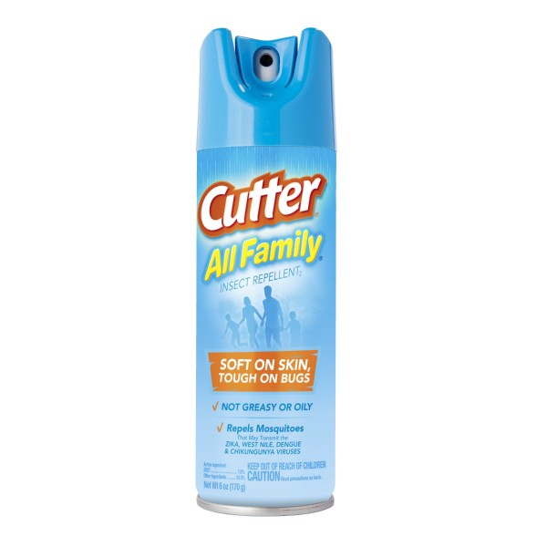 CUTTER ALL FAMILY INSECT REPELLENT 6OZ.