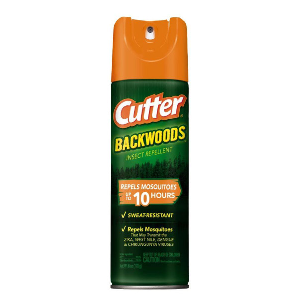 CUTTER BACKWOODS INSECT REPELLENT 6OZ.