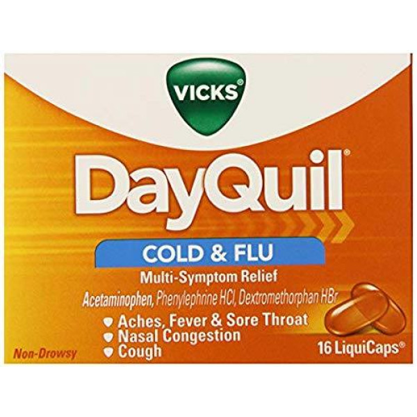DAYQUIL LIQUICAPS 16 CT.