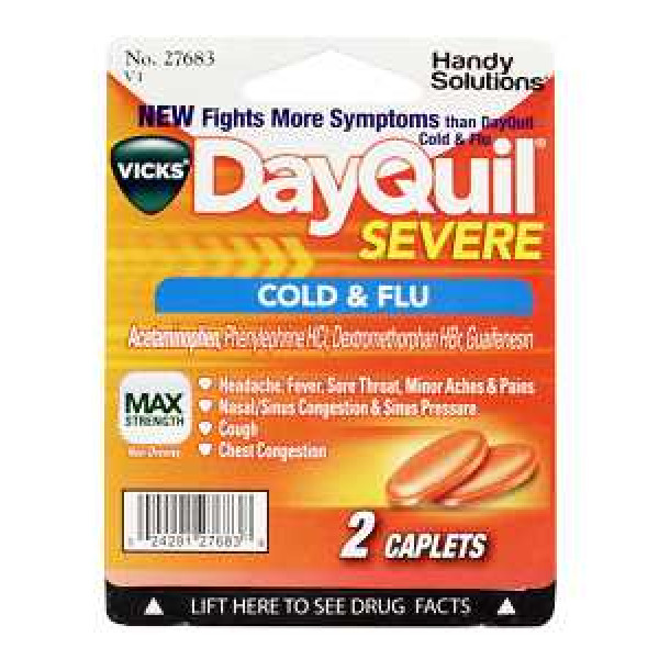 DAYQUIL SINGLE PACK BLISTER 12CT/BX
