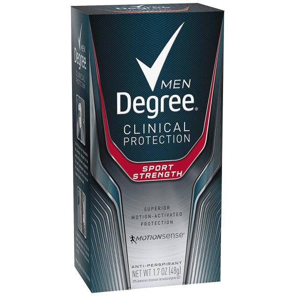 DEGREE FOR MEN SPORT INV. 1.7 OZ. SOLID