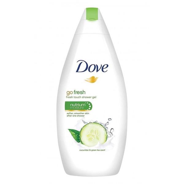 DOVE BODY WASH 500ML CUCUMBER & GREEN TEA (GREEN)