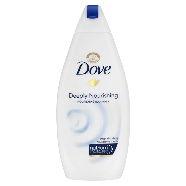DOVE BODY WASH 500ML DEEPLY NOURISHING(BLUE)