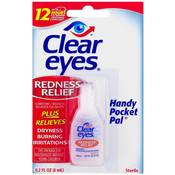 CLEAR EYES DISPLAY 0.2 OZ.(6ML) 12 CT.