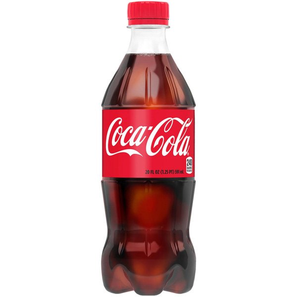 COKE BOTTLES 20 OZ. 24 CT.