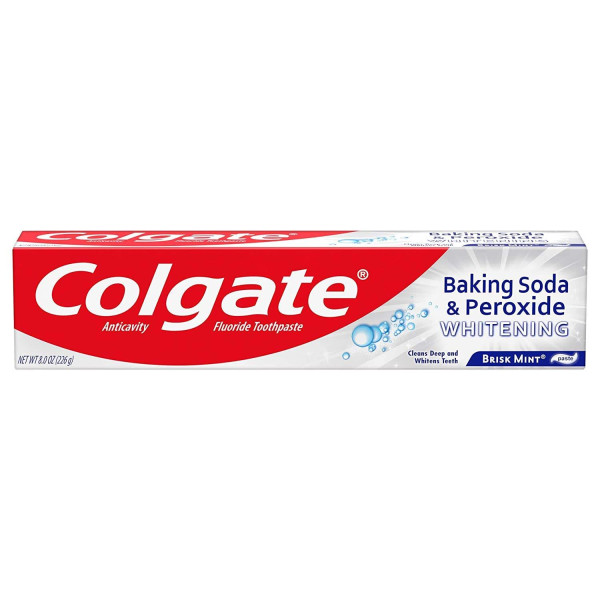 COLGATE 8.00 BAKING SODA WHT PASTE