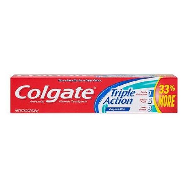 COLGATE 8.00 TRIPLE ACTION