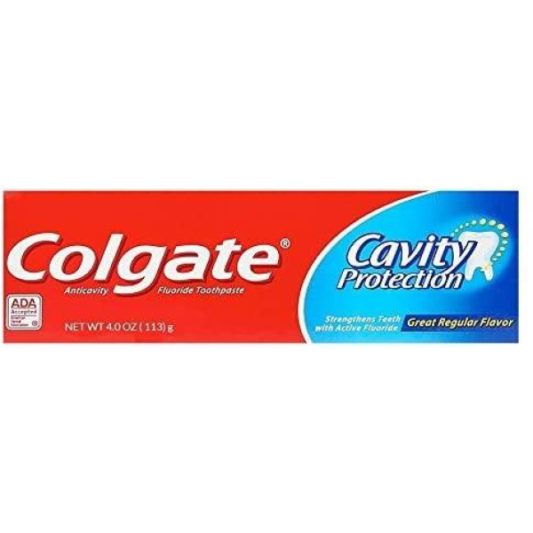 COLGATE TOOTH PASTE 4 OZ CAVITY PROTECTION