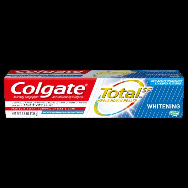COLGATE TOTAL 3.3OZ WHITE GEL