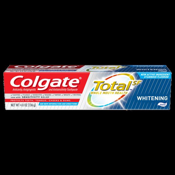 COLGATE TOTAL 3.3OZ WHITE PASTE