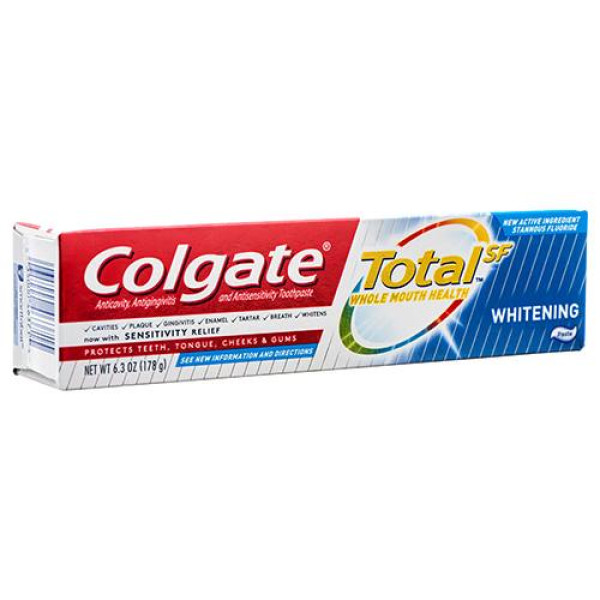 COLGATE TOTAL 6.3OZ. WHITENING