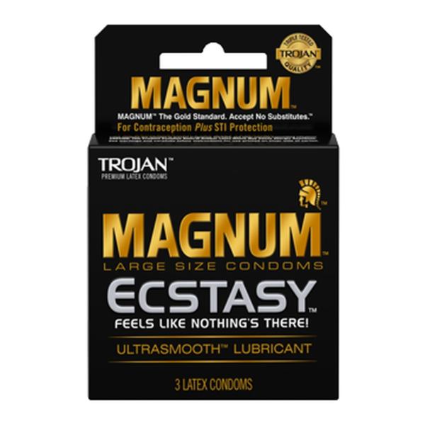Trojan Magnum Ecstasy Lubricated Condoms