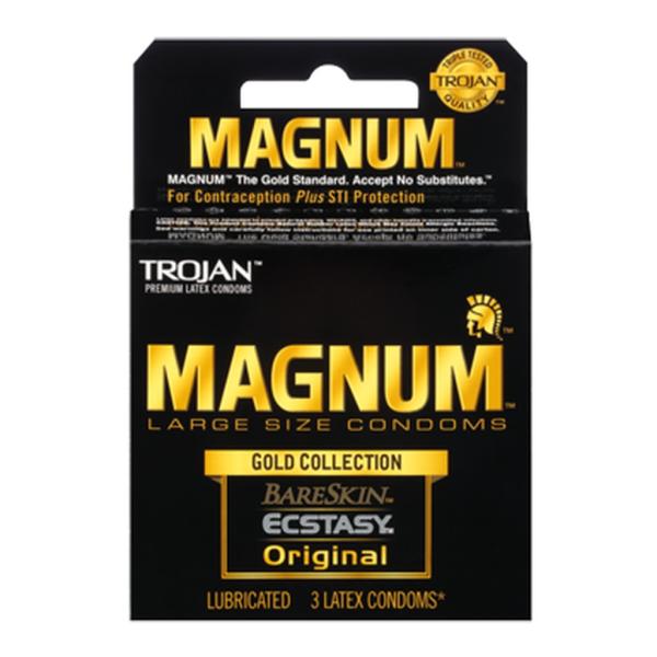 Trojan Magnum Gold Collection Condoms