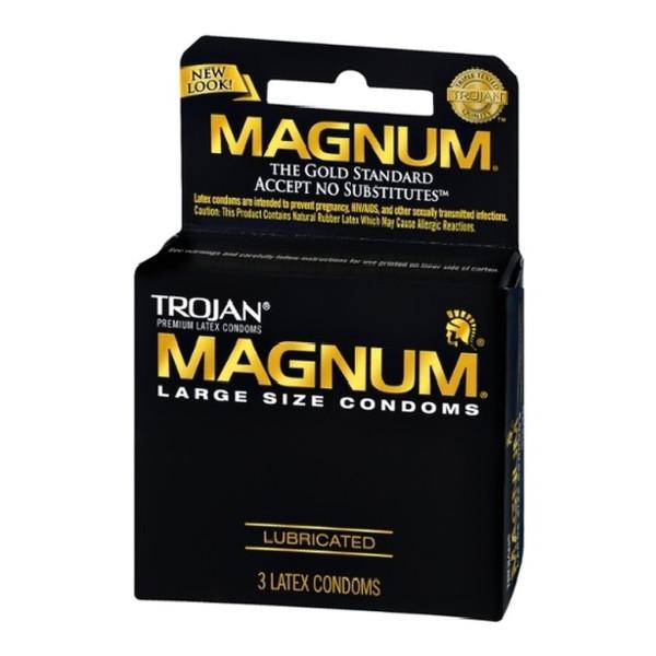 Trojan Magnum Lubricated Condoms