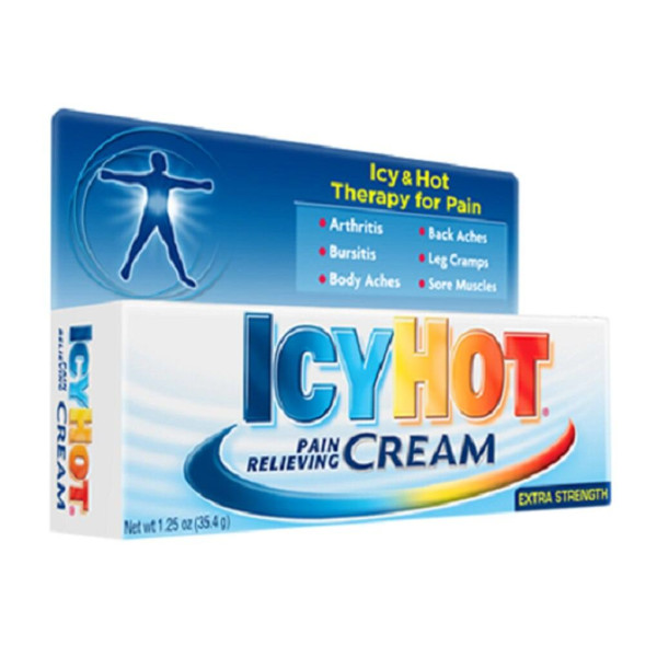 ICY HOT CREAM, 1.25 OZ