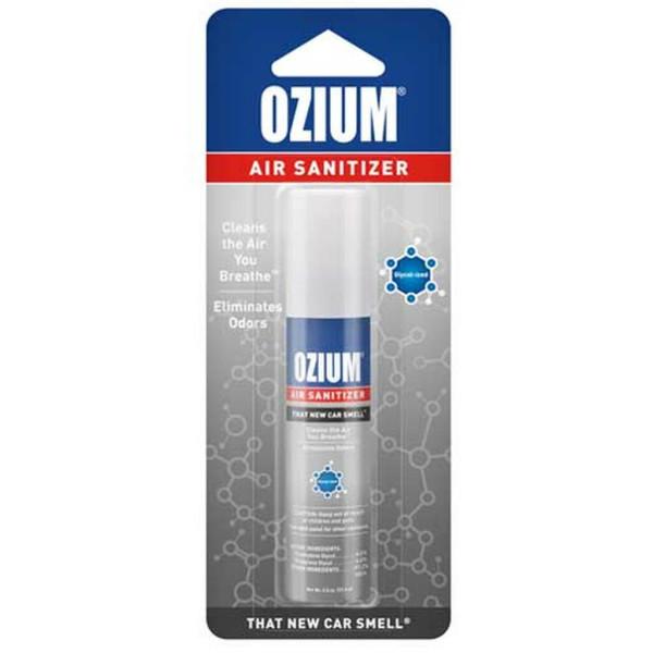 Ozium Air Sanitizer New Car