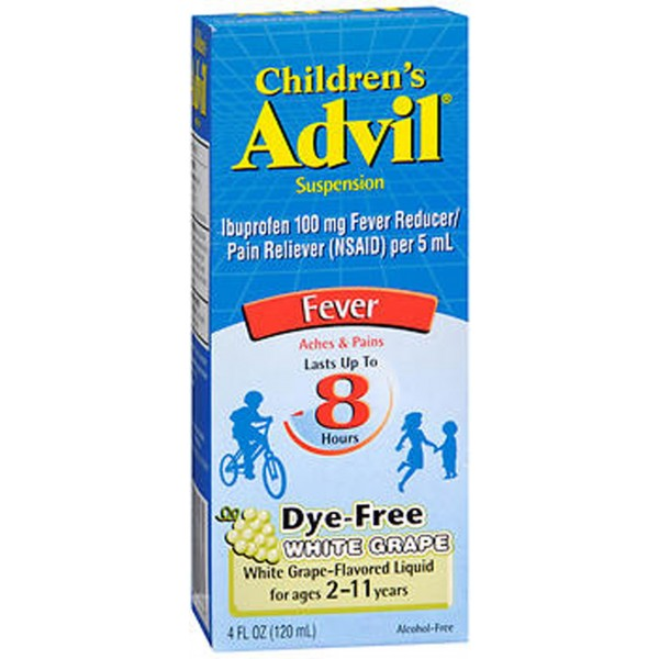 Advil Children's Suspension Fever White Grape - 4 oz